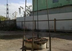 МФУ Луноход (Уличный камин, Коптильня, Мангал, Барбекю, Казан) схема прилагается