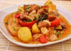 Дымлома или Басма - отменное блюдо крымских татар