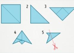 20 простых способов сделать снежинки из бумаги