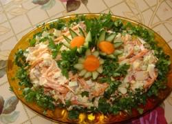 Советую приготовить свой фирменный салат «Фантазия»