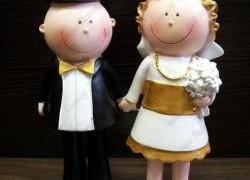 Как и где купить свадебные фигурки молодоженов на праздничный торт?