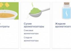 Разнообразные отдушки от компании «Оптовик»
