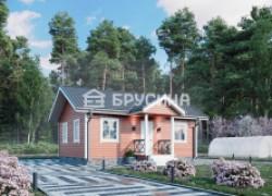 СК Брусина строит каркасно-щитовые дома и бани под ключ в Москве и Московской области