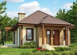 Маленький уютный дом с функциональной планировкой