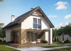 Аккуратный и практичный дом