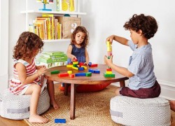 Детская комната для дошкольника: игра всему голова