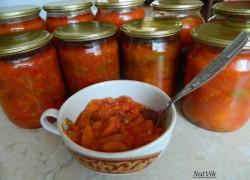 Мой фирменный рецепт овощного салата с фасолью