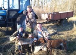 Свеженькие новости: Открытие охоты на зайчишку