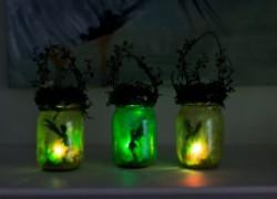 Как сделать очаровательные волшебные фонарики к Новому году. Мастер-класс