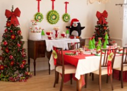 Создаем новогоднюю сказку в гостиной