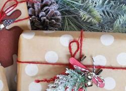 Новогодние украшения делаем сами: сани для Деда Мороза