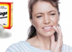 Соль и сода против зубной боли