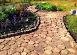 Восстанавливаем садовые дорожки после зимы