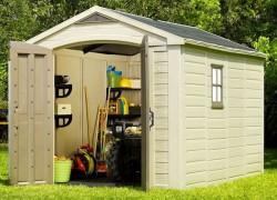 Строим сарай на даче: выбираем материал