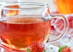 Целебный чай из листьев земляники