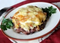 Стожки – оригинальное блюдо из фарша