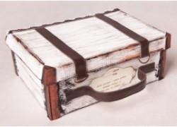Ретро-сундучок из коробки для обуви