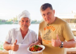 Ачучук -  идеальный салат к плову