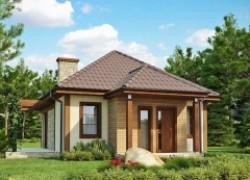 Функциональный и компактный дом для постоянного проживания