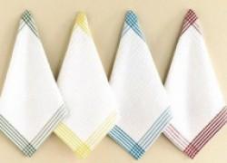 Возвращаем белизну кухонным полотенцам