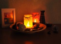 Наш светильник с огоньком вас согреет вечерком