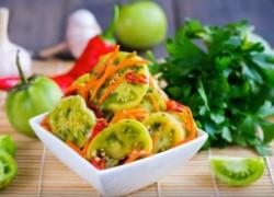 Шесть блюд из зеленых помидоров