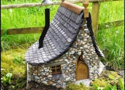 Идея для сада — домик для феи