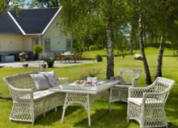 Мебель из искусственного ротанга для сада, дачи или загородного дома