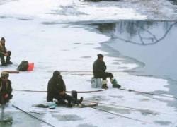 Ловля окуня со льда