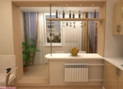 Увеличиваем полезную площадь: объединяем балкон и комнату