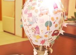 Светильник в виде воздушного шара