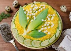 Шесть рецептов пасхальных салатов