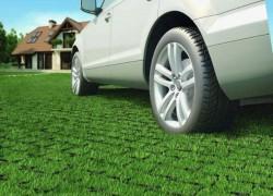 Экопарковка: газон для машины