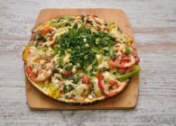 Ленивая пицца на сковороде за 15 минут