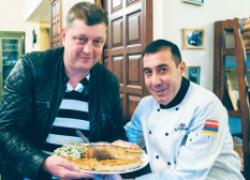 Человек мира юра саргсян создал национальное блюдо, ставшее визитной карточкой Армении