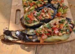 Овощи на гриле с сочной пикантной заправкой