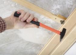 Монтаж деревянной вагонки на потолок