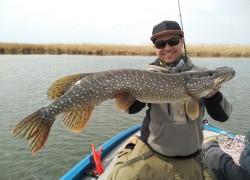 Рыбалка поздней осенью на спиннинг