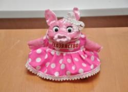 Свинка-хозяюшка как символ нового года