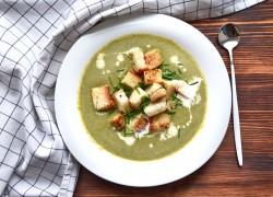 Суп-пюре из индейки и овощей