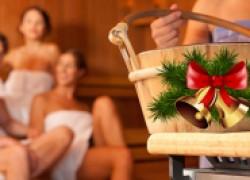 Новогодние каникулы – повод оздоровиться в баньке
