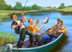 Мифы о рыбаках и рыбалках