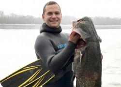 Подводная охота сплавом на днепре