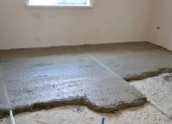 Тонкости работы со стяжкой в панельном доме