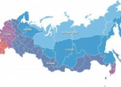 Климатические зоны РФ