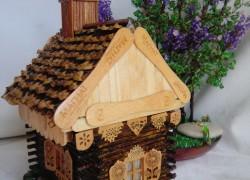 Шкатулка «Домик в деревне»