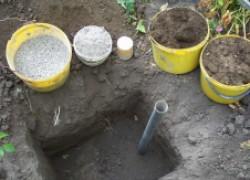 Пора копать ямы для винограда