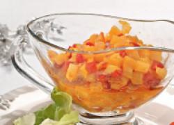 Острый фруктовый чатни к мясу