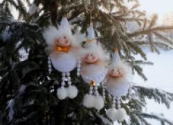 Снеговички своими руками