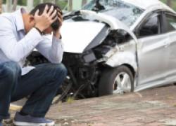 После подставной аварии еще и оштрафовали